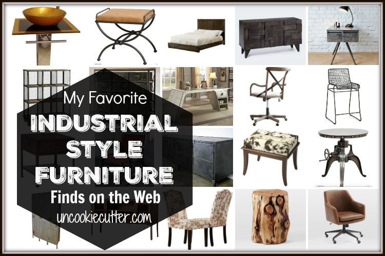 Industrial Style Furniture Is All The Rage Right Now And Iu0027ve Rounded Up My