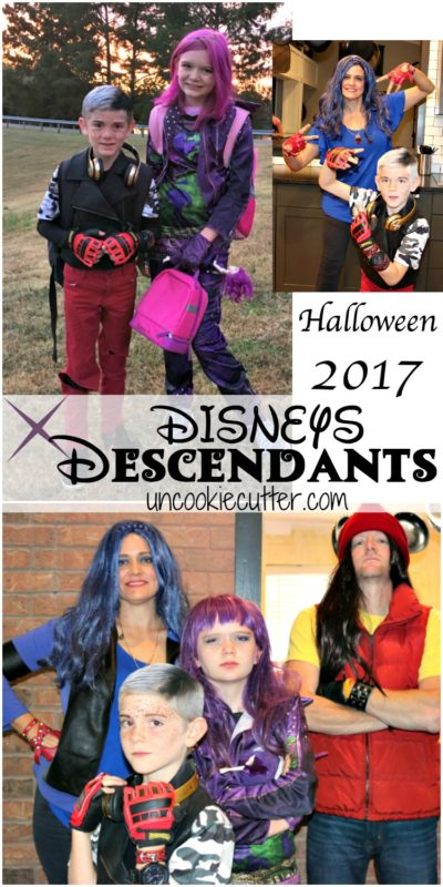 Descendants Costumes were the theme for Halloween this year!  Shop this post to find out how we pulled them together.