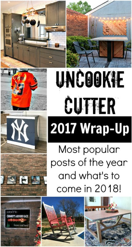 I've rounded up my best of 2017 - all the top posts from the year and a hint at what's to come in 2018!