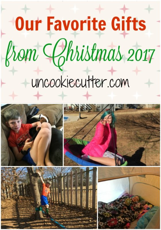 Our favorite gifts from Christmas 2017 - what was worth the money and we loved! UncookieCutter.com