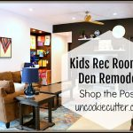 Den Remodel – Shop the Kids Rec Room!