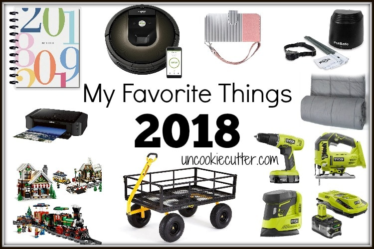 I've got a list of my most recommended products to try and make your holiday shopping a little easier with my favorite things 2018 edition!