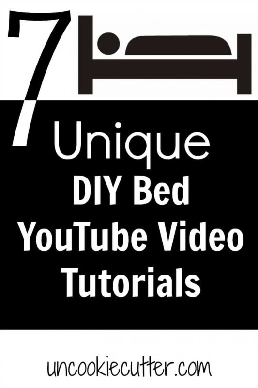 I've rounded up 7 unique DIY bed videos in preparation for my own DIY bed, coming soon as part of our master bedroom renovation.