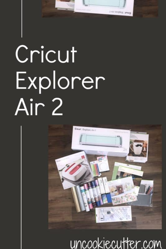 I'm just getting started on my journey with my new Cricut Explorer Air 2 and I can't wait to share all the details with you!  UncookieCutter.com