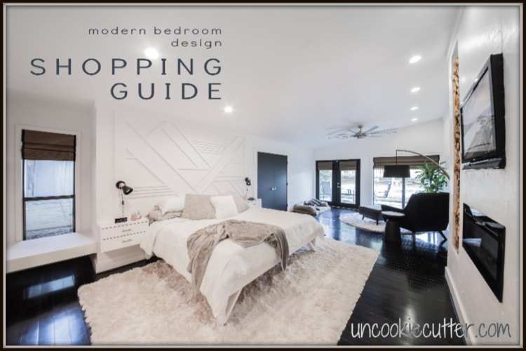 Modern Bedroom – Shop the Post