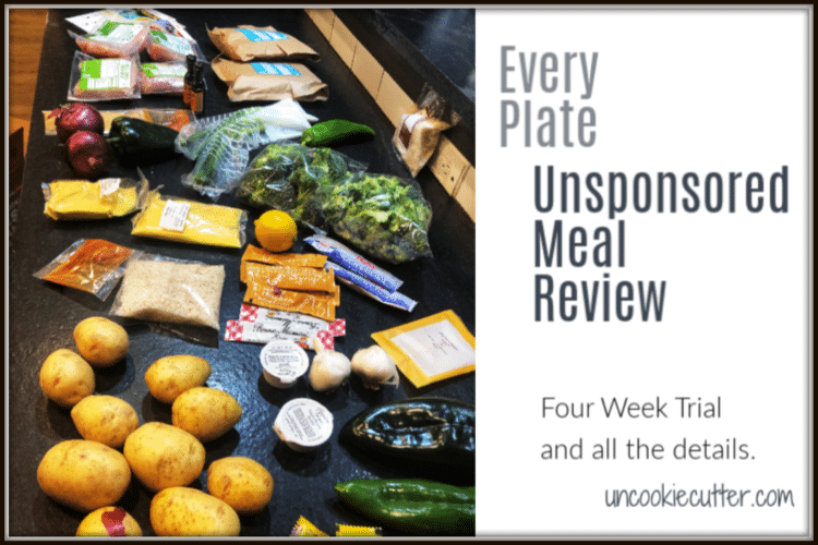 Everyplate Meal Plan – An Unsponsored Review