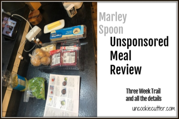 Marley Spoon Meal Plan – An Unsponsored Review