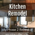 We finished up on phase 2 of our kitchen remodel. We are slowly working our way through this room, and although it's taking forever, we are loving the transformation! So much more open and user friendly. Head over to the blog to get all the details!