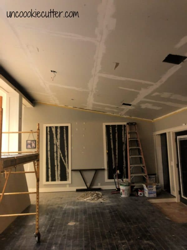 What happens when your overwhelmed and then your ceiling is falling? Literally - here's what we are dealing with going on a year now.